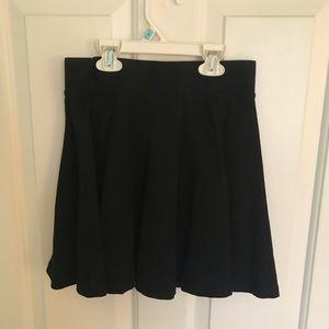 Mini black skirt from H&M